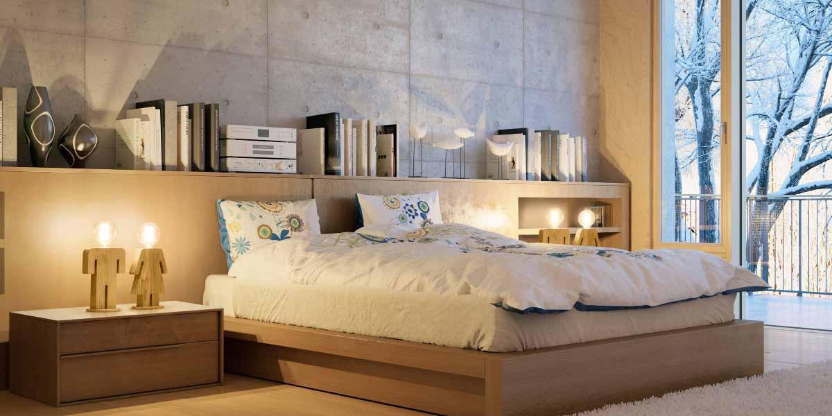 Tips voor verlichting in de slaapkamer