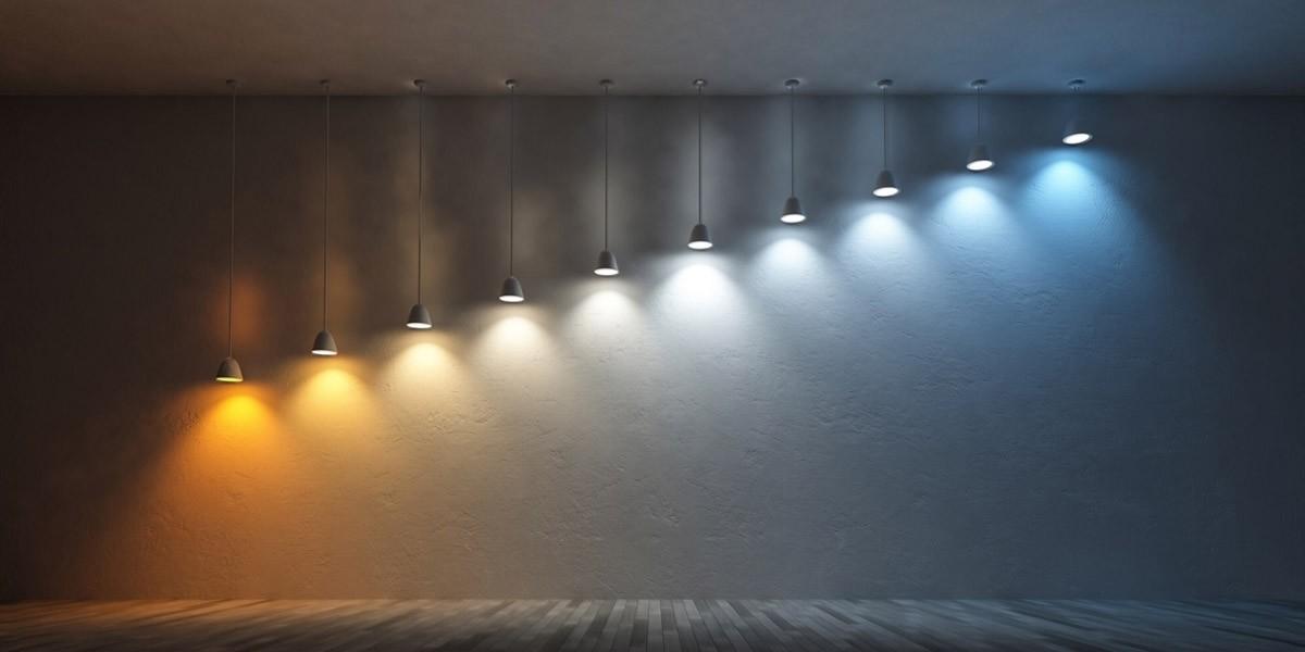 Kleurtemperatuur bij LED lampen