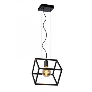 Lucide Hanglamp Fabian Zwart 00425/01/30