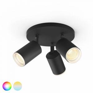 Philips Hue Fugato Spotlamp 3-lichts Zwart