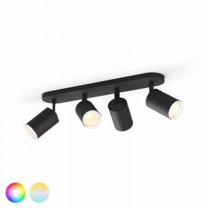 Philips Hue Fugato Spotlamp 4-lichts Zwart