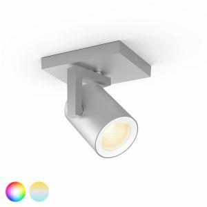 Philips Hue Argenta Spotlamp 1-lichts Aluminium