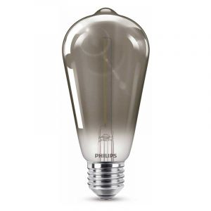 Philips Filament LED Rusticalamp (ST64) Gerookt E27 2,3 Watt