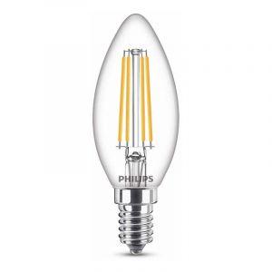 Philips Filament LED Kaarslamp (B35) Helder E14 6,5 Watt