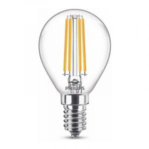 Philips Filament LED Kogellamp (P45) Helder E14 6,5 Watt