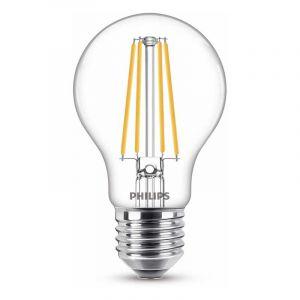 Philips Filament LED Standaardlamp (A60) Helder E27 8,5 Watt