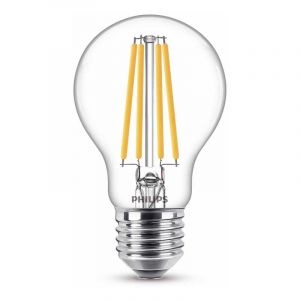 Philips Filament LED Standaardlamp (A60) Helder E27 10,5 Watt