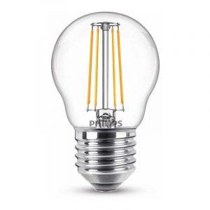 Philips Filament LED Kogellamp (P45) Helder E27 4,3 Watt