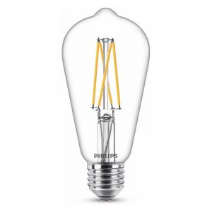 Philips Filament LED Rusticalamp (ST64) Helder E27 7 Watt