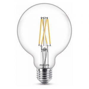 Philips Filament LED Globelamp (G93) Helder E27 7 Watt