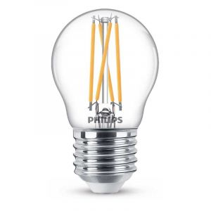 Philips Filament LED Kogellamp (P45) Helder E27 3,2 Watt