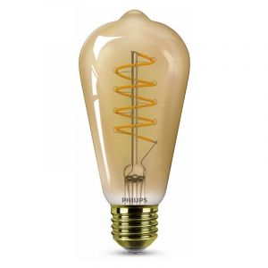 Philips Filament LED Rusticalamp (ST64) Amber E27 5,5 Watt