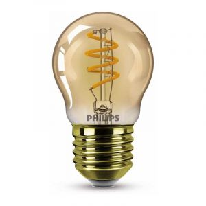 Philips Filament LED Kogellamp (P45) Amber E27 3,5 Watt