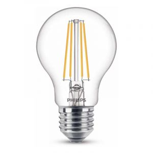 Philips Filament LED Standaardlamp (A60) Helder E27 7 Watt