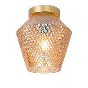 Lucide Plafondlamp Rosalind Amber 03134/01/62
