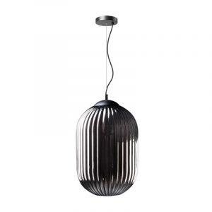 Hanglamp Glamm met prachtig rookglas van ETH
