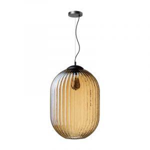 Hanglamp Glamm met amber glas van ETH