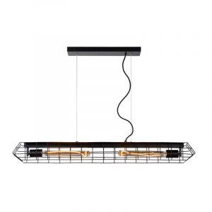 Lucide Hanglamp Lattice Zwart 05332/02/30