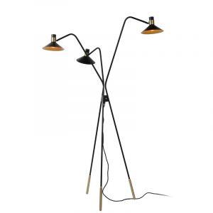 Lucide Vloerlamp Pepijn Zwart 05728/03/30