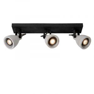 Lucide Spotlamp Concri 3-lichts Zwart 05910/15/30