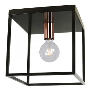 Lucide Plafondlamp Arthur Zwart 08124/01/30