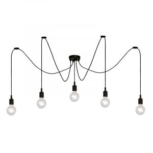 Lucide Hanglamp Fix Multiple Zwart 08408/05/30