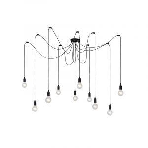 Lucide Hanglamp Fix Multiple Zwart 08408/10/30