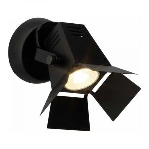Brilliant Spotlamp Movie Zwart G08910/76
