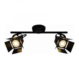 Brilliant Spotlamp Movie 2-lichts Zwart G08913/76