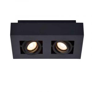 Lucide Spotlamp Xirax 2-lichts Zwart 09119/11/30