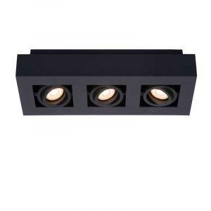Showmodel Lucide Spotlamp Xirax 3-lichts Zwart 09119/16/30