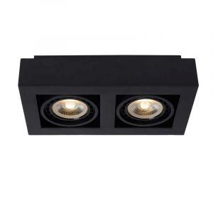 Lucide Spotlamp Zefix 2-lichts Zwart 09120/24/30