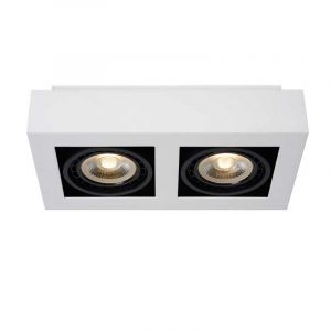 Showmodel Lucide Spotlamp Zefix 2-lichts Wit 09120/24/31