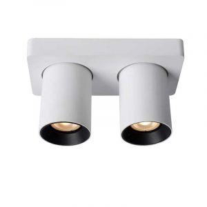 Lucide Spotlamp Nigel 2-lichts Wit 09929/10/31