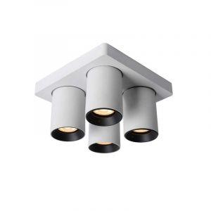 Lucide Spotlamp Nigel 4-lichts Wit 09929/20/31