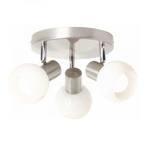 Brilliant Plafondlamp Bona Chroom 10534/05