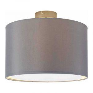 Brilliant Plafondlamp Clarie Grijs 13291/22