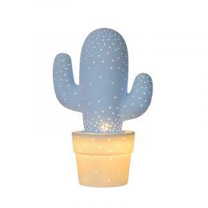 Lucide Tafellamp Cactus Blauw 13513/01/68