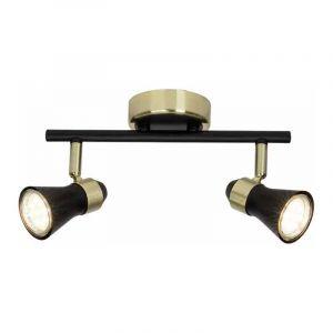 Brilliant Plafondlamp Jupp Messing 15913/78