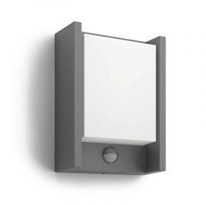 Philips Wandlamp met sensor Arbour Antraciet 164619316