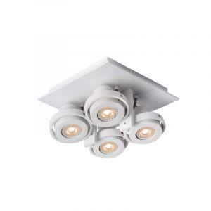 Lucide Spotlamp Landa 4-lichts Wit 17906/21/31