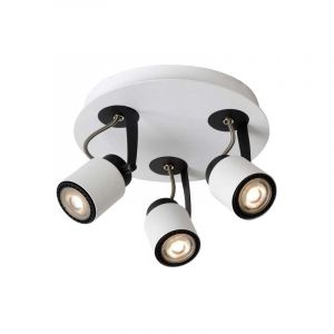 Lucide Spotlamp Dica 3-lichts Wit 17989/15/31