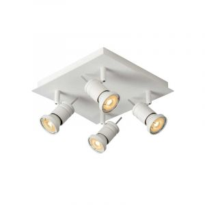 Lucide Spotlamp Twinny 4-lichts Wit 17990/19/31