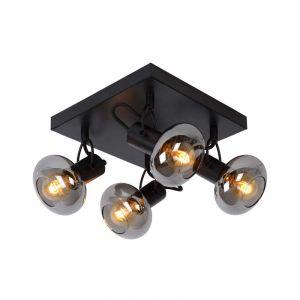 Lucide Spotlamp Madee 4-lichts Zwart 17993/14/30