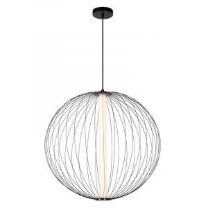 Lucide Hanglamp Carbony Zwart 20414/61/30
