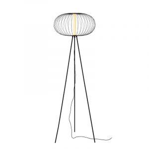 Lucide Vloerlamp Carbony Zwart 20714/05/30