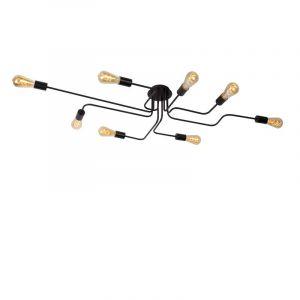 Lucide Plafondlamp Lester Zwart 21112/08/30