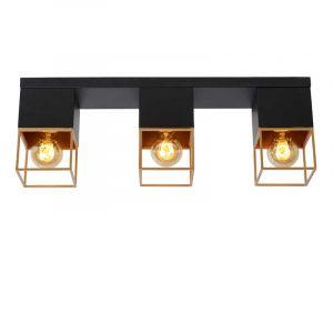 Lucide Plafondlamp Rixt Zwart 21120/03/30