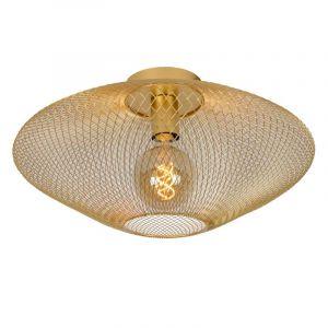 Lucide Plafondlamp Mesh Messing 21123/45/02