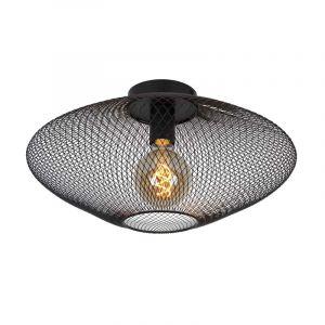 Lucide Plafondlamp Mesh Zwart 21123/45/30